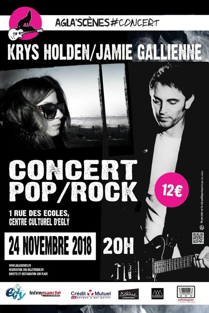 affiche concert novembre 2018