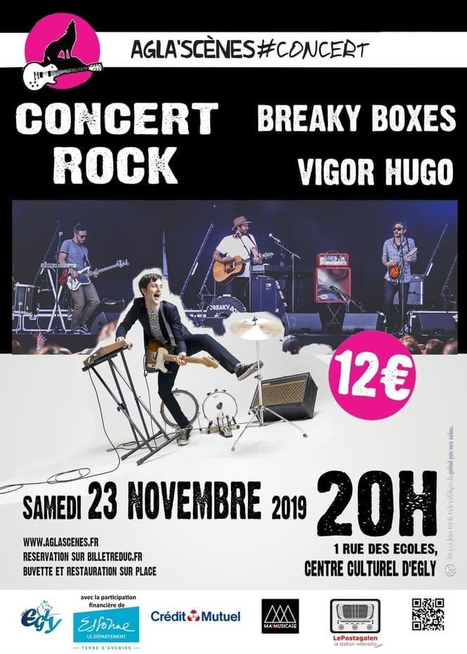 affiche concert novembre 2019
