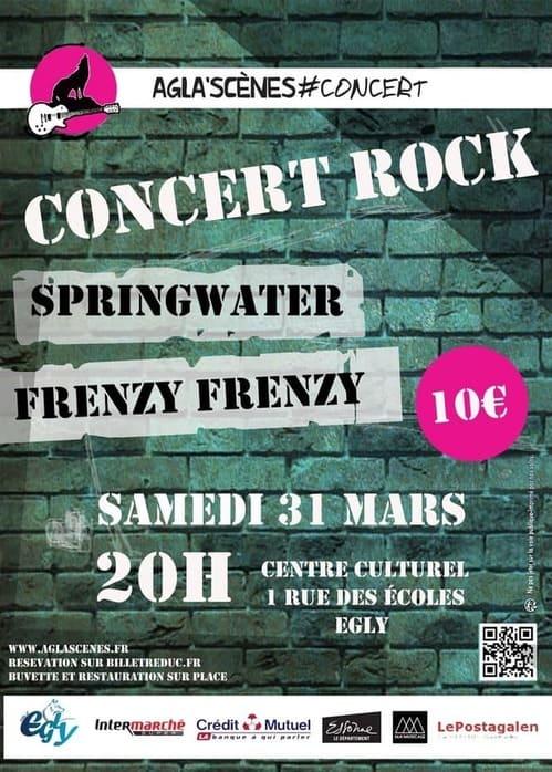 affiche concert mars